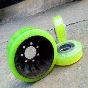 Đắp bánh xe nâng PU chất lượng cao tại HCM